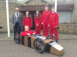 Braeview Academy electric car racing team
