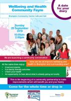 Brampton Wellbeing & Heath Community Fayre
