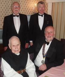 Brother Michael enthralls Tenby Rotarians