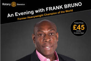 An Evening with Frank Bruno - 80th Charter Dinner