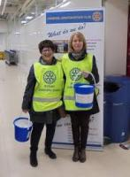 BUCKET COLLECTION - TESCO PARK ROAD, LIVERPOOL.