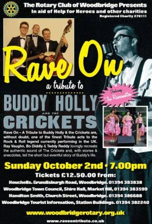 Buddy Holly Concert - EVENT SOLD OUT !