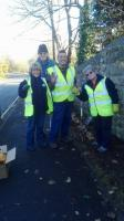 Filey Rotary Club donates Purple for Polio crocus bulbs to the town of FIley
