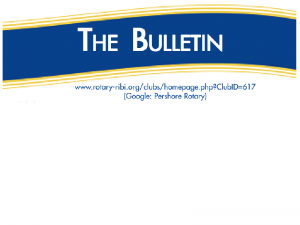 Club Bulletins