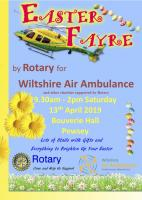 Easter Fayre at Bouverie Hall Pewsey 13 April 2019