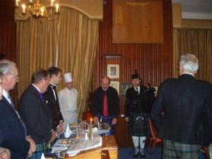 Rotary Club Burns Supper Tues 26th Jan 2010