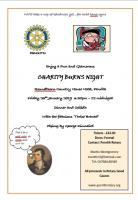 Charity Burns Supper 2019