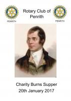 Charity Burns Supper 2017