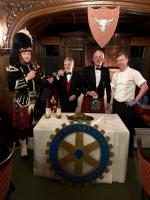 Haggis aplenty at Rotary Burns Night Supper!