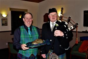 Rotary Club of Kirriemuir - 2019 - Burns Supper