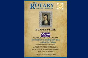Glasgow Rotary Burns Supper 2018