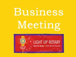 Lunchtime Meeting - 12.45pm - Business Meeting with ADG Dave Roscoe