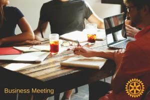 October Business Meeting