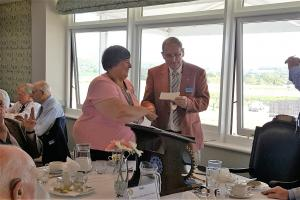 Taunton Rotary donates £1,000 to the Busoga Trust