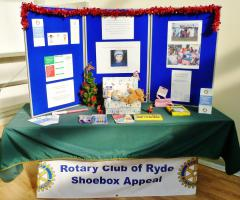 Ryde Rotary Shoe Box Project 2013