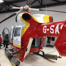 Visit to Cornwall Air Ambulance