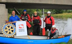 60 miles for 60 years - D of E Tweed Canoe Challenge