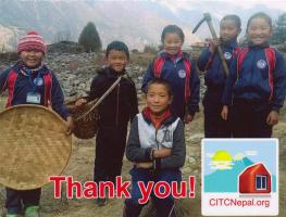 We receive a thank you from Classrooms in the Clouds