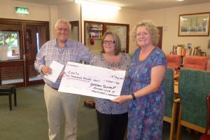 Crowthorne seniors get £2000 boost