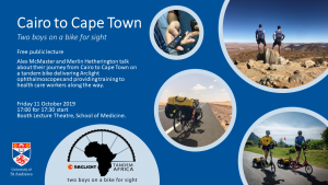 Cairo to Cape Town for Arclight