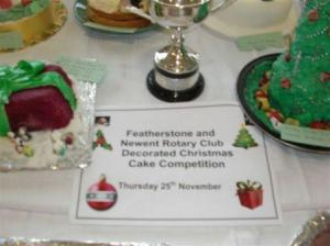 Featherstone Memorial Student Cake Decoration Competition