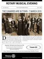 Musical Evening at Caldicott School - March 2015