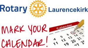 Laurencekirk & District Rotary Club Business Meeting Dates