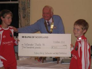 Cheques Presentation - 18th October 2011