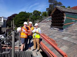 Rotary helps Lake District Calvert Trust's new brain injury centre
