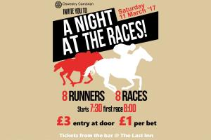 Cambrian Race Night @ The Last Inn, Hengoed
