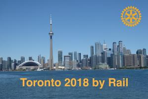 Speaker Meeting 9th January - By rail to Toronto