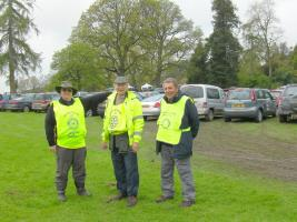 May 1st Car parking at Hergest Croft for the Air Ambulance