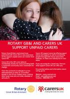 Rotary Supports Carers UK