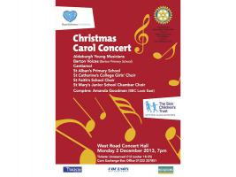 DEC 2013 Carol Concert at West Road Concert Hall 7pm