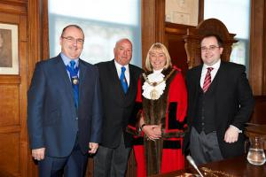 Visit to the Mayor's Parlour