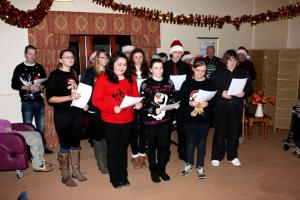 Care Home Christmas Carol Singers 2015
