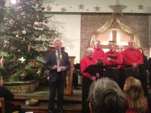 Carol Service Gorsley Chapel tuesday 18th December 2012