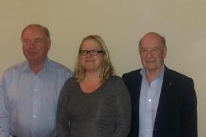 Saddleworth Rotary Club Welcomes Two New Members
