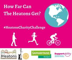 Heatons Charity Challenge July & August