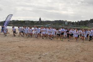 Chariots of Fire 2012 run on West Sands
