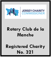 Rotary de la Manche is a Registered Jersey Charity