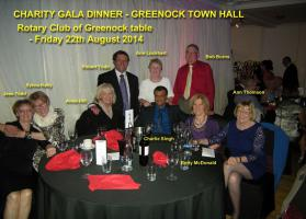 Greenock Telegraph Gala Dinner