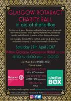 Charity Ball Poster
