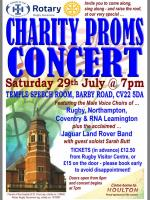 Charity Proms Concert