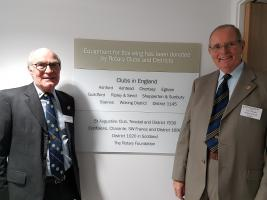 Rotary Clubs assist Woking & Sam Beare Hospice
