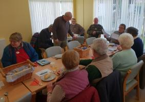 Frugal Lunch meeting in Knighton