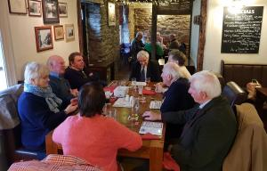 Lunch meeting at the Farmers Inn