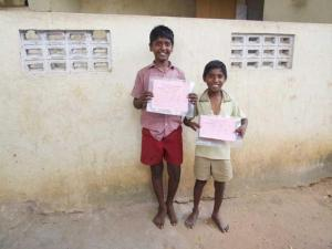Sponsorship of Chennai Pupils