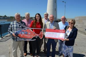 Joint Collection with Donaghadee and Bangor Clubs for the NI Air Ambulance