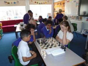 Chess at Heathfield Junior School